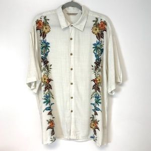 Paradise Collection | floral Hawaiian shirt XL